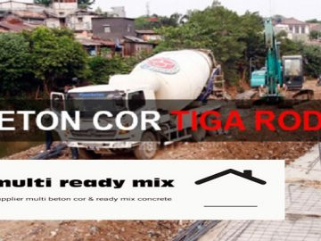 Harga Beton Cor Multi Ready Mix