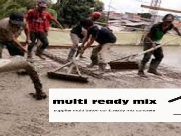 multi beton ready mix per kubik